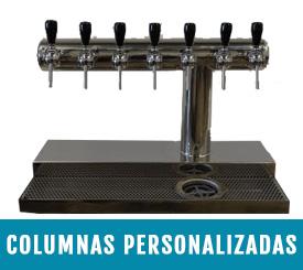 columnas personalizadas para cervezas artesanas