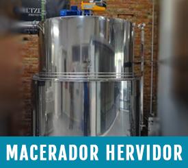 deposito macerador herbidor para cervezas artesanas