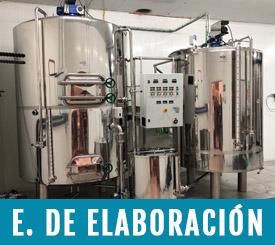 equipo de elaboracion para cervezas artesanas